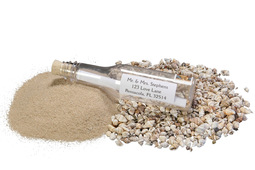 Message Bottle Sand
