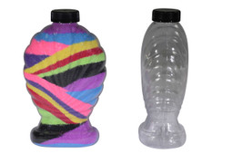 Large Shell Sand Art Bottle