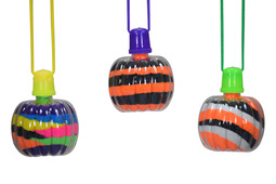Sand Art Pumpkin Necklaces 50ct