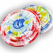 Spin Art Frisbee 100 ct.