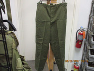 COLLECTIBLE-NEW KOREAN WAR ERA-M1951 WOOL FIELD TROUSERS MED/REG-RE:TAG[W1002]
