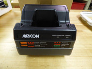 M/ACom Tri-Chemistry P7100/P7200 Radio Single Charger Lot of Four (4)