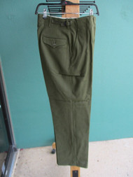VIETNAM ERA-NEW OLD STOCK-M 1951 TROUSERS, MEN, FIELD, WOOL-SMALL/REG [W1005]