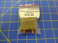 ANZAC Power Divider Splitter / Combiner 1-1800Mhz SMA Connectors