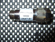 Mini Circuits Fixed Coaxial 8dB Attenuator UNAT-8+ DC-6 GHz 50 OHM NOS