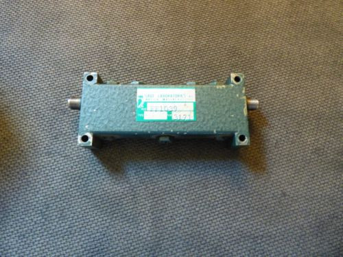 Sage Laboratories Inc, FF1039 3940 to 4060 MHz, Bandpass Filter Tested