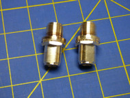 2 Each (1 Pair) Adapter N Female TYPE plug to N female jack RF Bulkhead