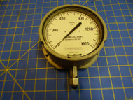 3D Instruments Inc. 25564-31N3A 1500 PSIG Dial Pressure Gage 6685-00-998-6203