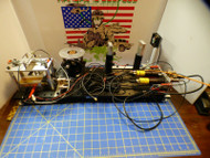 Edmund Fiber Optic Test Bed 24x8 Loaded with Extras - Thorlabs LJ750 2 Lasers