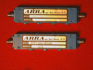 ARRA Microwave Band Pass Filter BPF5900-6500 5900Mhz to 6500Mhz 100 WATTS DATA