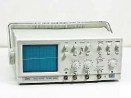 EZ Digital OS-5020 Analog Oscilloscope 20Mhz 2 Channel with 1 PROBE (UNIT#8)