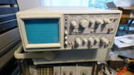 EZ OS-5100 100 Mhz Oscilloscope for Parts or Repair NOT WORKING