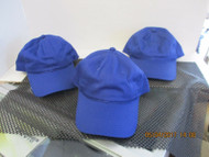 LOT OF 3 NEW UNSTRUCTURED BLUE CAP HAT PONYTAIL CUTOUT SNAPBACK BY OC