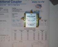 Mini Circuits ZADC-10-17W-S Directional Couple 800 Mhz -1900 Mhz w/ Data Sheet