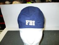 "ONE NAVY BLUE ""FBI"" Motorcycle Rider Head Wrap Biker Bandana Doo Rag"