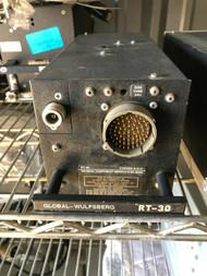Global-Wulfsberg RT-30 VHF Lo Band Flexcomm FM Transceiver Allied Signal Avionic