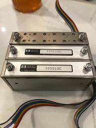 Lot of 3 HP / Agilent Programmable Attenuators 33321SC 33321SD 33321SG