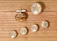 Rimmed Gold Star Set