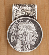Indian Head Coin Money Clip