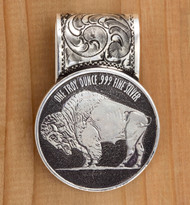 Buffalo Coin Money Clip