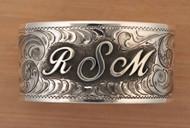 Initial Cuff Bracelet
