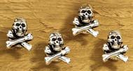 Skull & Crossbone tux stud set