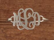 Monogram Sterling Bracelet