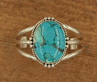 Large Turquoise Stone Cuff 2