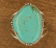 Large Turquoise Stone Cuff 3