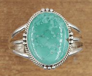 Turquoise Cuff Oval Stone