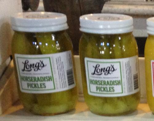 Long's Horseradish Pickles.