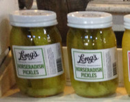 Long's Horseradish Pickles.