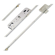 GU Ferco Munster Joinery Latch, 1 Deadbolt and 2 Rollers, 70mm centres