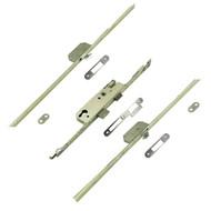 VERSA Multi-Fit for Timber & Composite Doors - 2 Hook Version 45mm B/Set