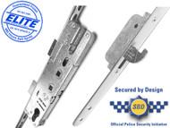 Elite Composite, Latch, Deadbolt and 2 Hooks Lift Lever (L/L) 20mm Faceplate