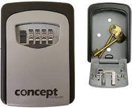 Wall Mounted Key Holder Safe