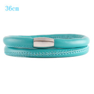 ZILLION DOUBLE BRACELET - TURQUOISE (LEATHER)