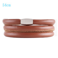 ZILLION CARAMEL TRIPLE LEATHER BRACELET
