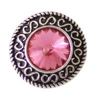 DIAMOND PINK FLOWER -BIG