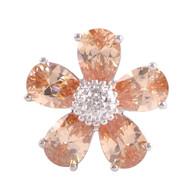LAVISH - RITZY TOPAZ FLOWER