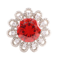 LAVISH - ELEGANT POPPY RED TOPAZ