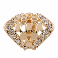 Z-CHARM GOLD CLUSTER DIAMOND