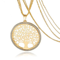 PENDANT - TREE OF LIFE (GOLD)