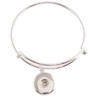 ONE BUTTON OPEN BANGLE