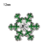 CHRISTMAS - MINI SNOWFLAKES (GREEN)
