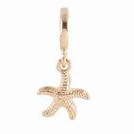 Z-CHARM GOLD  SEA STAR