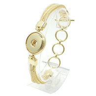 BRACELET - ANTIQUE PENDANT (GOLD)