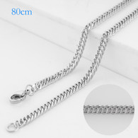 CHAIN - BIG ROPE LONG - SILVER