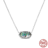 LISS - IRIDESCENT ABALONE SHELL (NECKLACE)