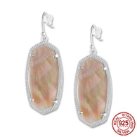 LISS - CHAMPAGNE SHELL (EARRINGS)